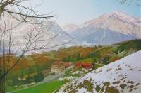 Швейцария,окрестности Рейхенбахского водопада